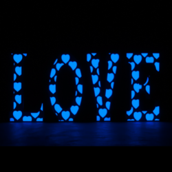 Decor Love Blue FX